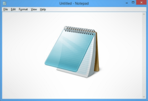 open json file using Notepad